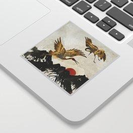 Elegant Flight II Sticker