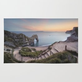 Winding Way to Durdle Door Rug