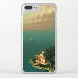 Mystic Fantasy Island Clear iPhone Case