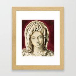 La Pieta Framed Art Print