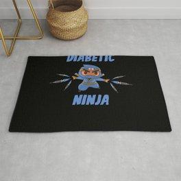 Diabetic Ninja Diabetes Rug