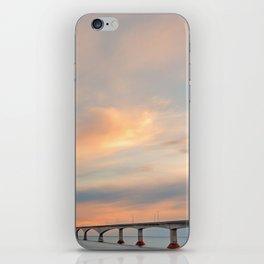 Sunset Sky Bridge iPhone Skin