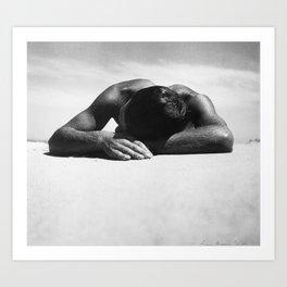 Sunbaker by Max Dupain, 1937 - Australian Photographer Art Print