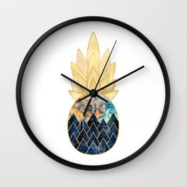 Precious Pineapple 1 Wall Clock