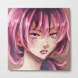 Pinkie Metal Print