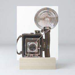 Classic Camera Video Cam Recording Analogic 1900 Historical Mini Art Print