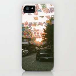 SAYING GOODNIGHT iPhone Case