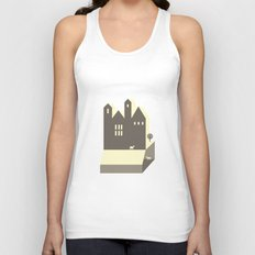 Small houses Unisex Tank Top