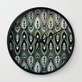 Pierrot II/Memoir Pattern Wall Clock