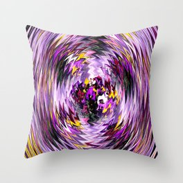 The Pansies within... Throw Pillow