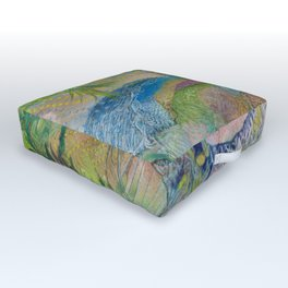 Riparian Fugue Outdoor Floor Cushion