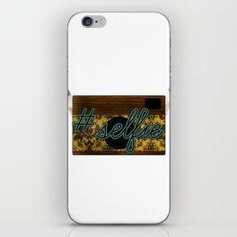 #Selfie iPhone Skin