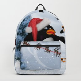 Funny penguin Backpack