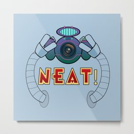 Neat! Metal Print