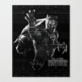 Black Panthers Canvas Print
