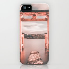 Itsukushima Shrine iPhone Case