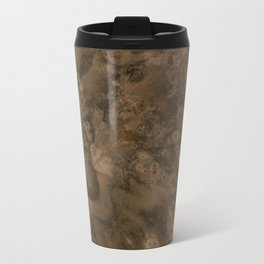 Walnut Burl Wood Travel Mug