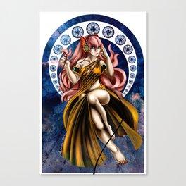 Nouveau Luka Canvas Print