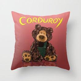 Corduroy Throw Pillow