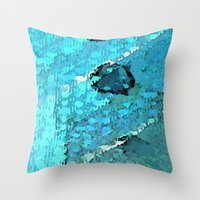 voyage Throw Pillows featuring Voyage by Paul Kimble