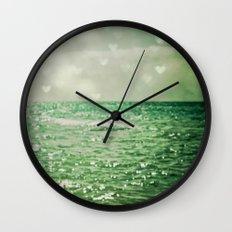 Sea of Happiness Wall Clock
