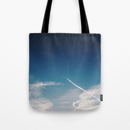 Blue Skies are calling, Groningen, Netherlands Tote Bag