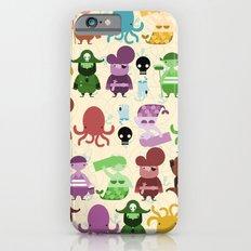 pirate pattern iPhone 6s Slim Case