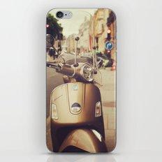Vespa in Paris iPhone & iPod Skin