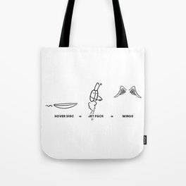 HOW DO YOU FLY? Tote Bag