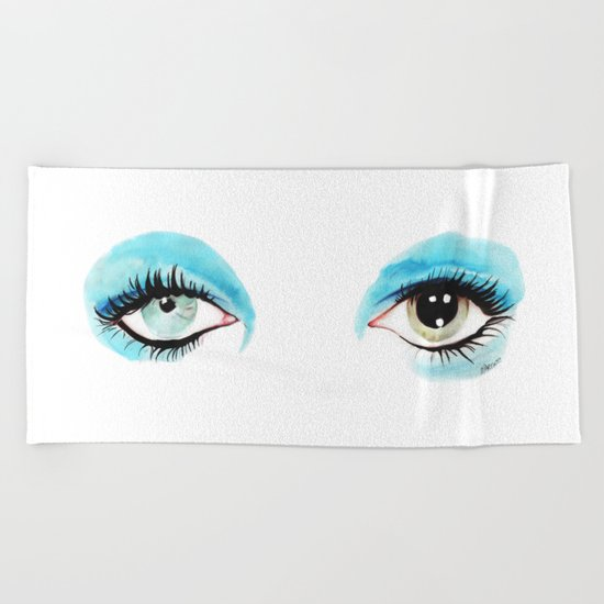 Bowie - Life on Mars? Beach Towel