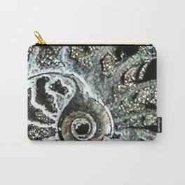 Pyrite after Ammonite Carry-All Pouch