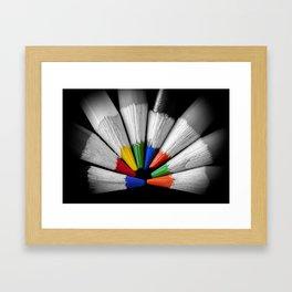 Colour Your Walls Framed Art Print
