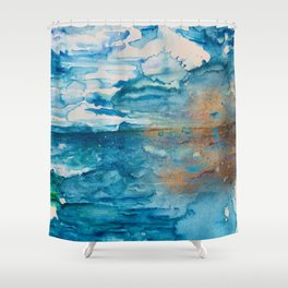 Save The Oceans, Cabo Beaches Shower Curtain