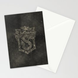 Slytherin House Stationery Cards