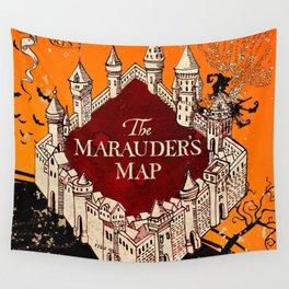 Hogwarts Map Wall Tapestry