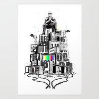 rap Art Prints featuring Rap God by Reducto