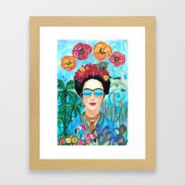 Frida Aruba Framed Art Print
