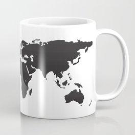 Low Fidelity World Map Coffee Mug