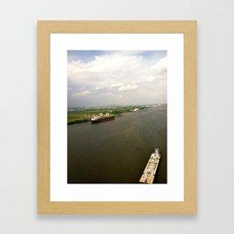 philly from a  far Framed Art Print