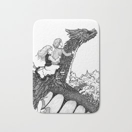 Dragonborn kids Bath Mat