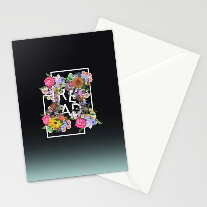 Read, just read Stationery Cards