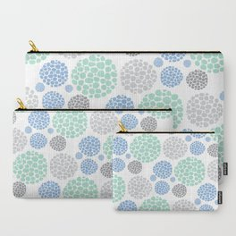 Stone Age Print- blue Carry-All Pouch
