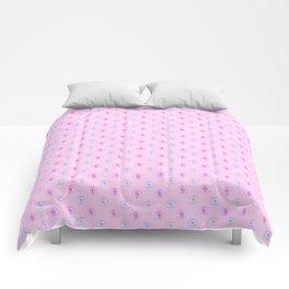 pastel eyes Comforters