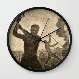 The Demolishers Wall Clock