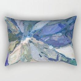 412 - Abstract Colour Design Rectangular Pillow