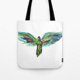 Color Angel Tote Bag