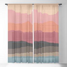 Natur Sheer Curtain