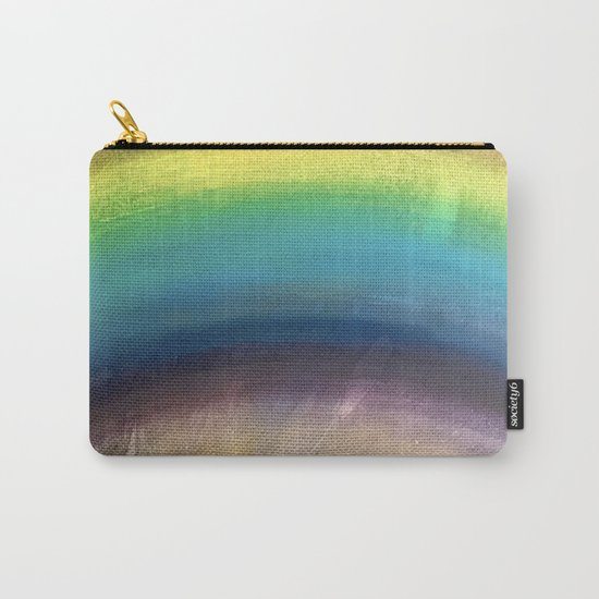 Rainbow Painting Carry-All Pouch