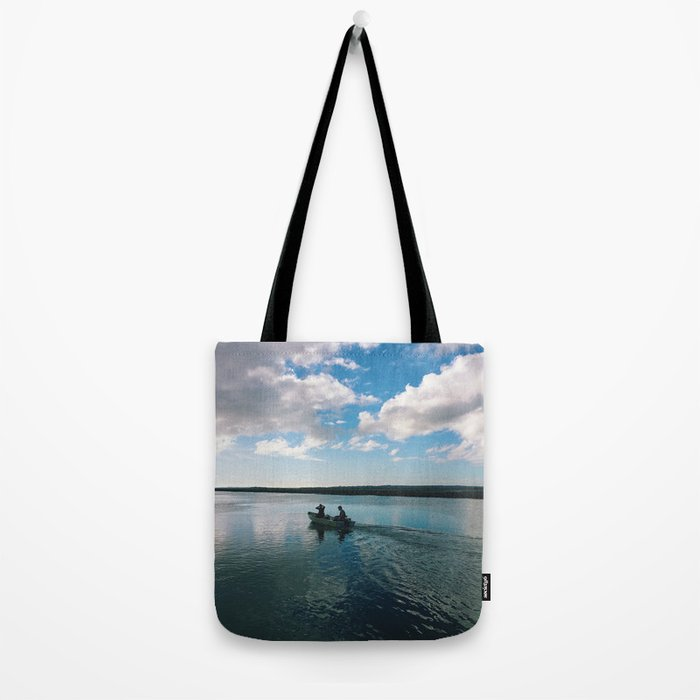 Boating Date Tote Bag