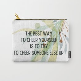 Cheer up - Mark Twain Collection Carry-All Pouch